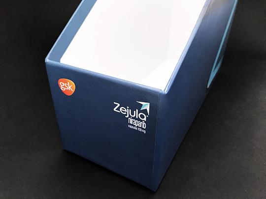 ANGLED FOLDER BOX
